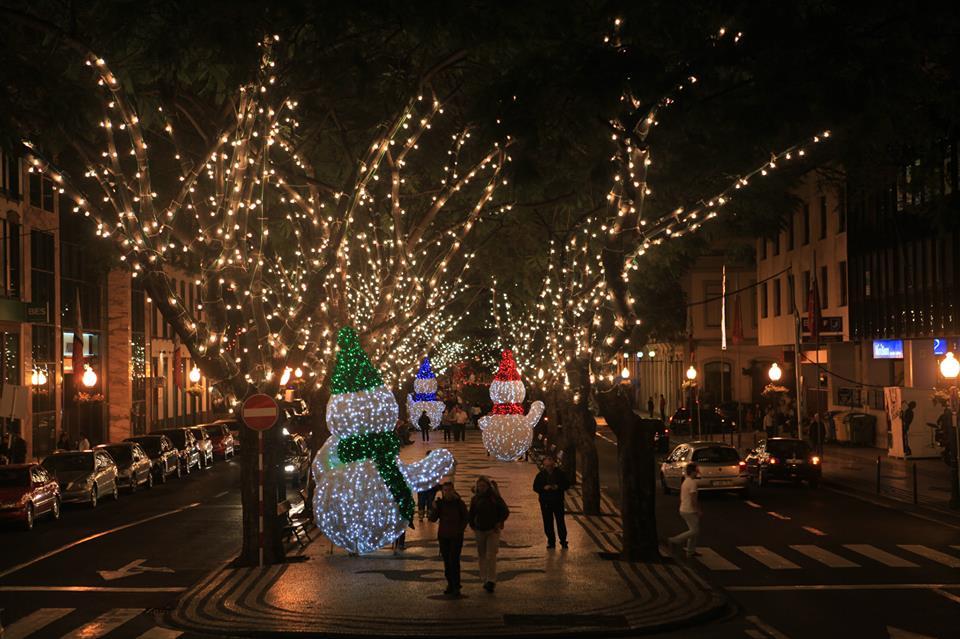 Luces de Madeira fin de año