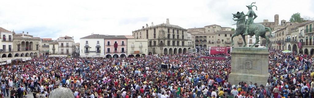 El Chiviri en Trujillo, fiestas populares