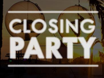 Ocean Beach Ibiza Closing Party Cartel