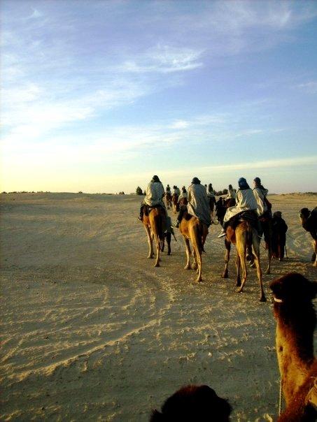 viaje fin de carrera a Túnez