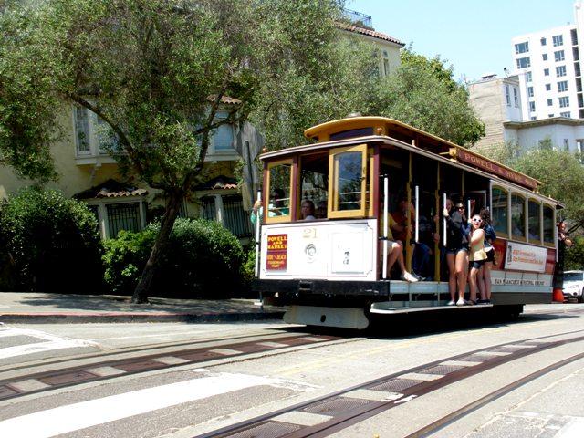 Cable Car en California