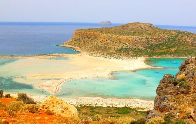 Playa de Balos en Creta