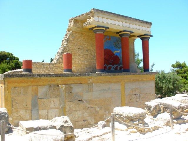 Ciudad de Heraklion en Creta