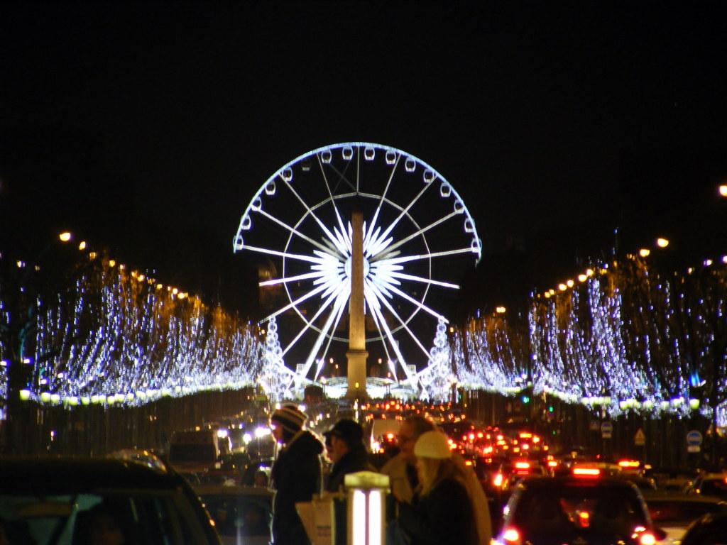 Paris en Navidad